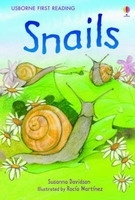 USBORNE FIRST READING LEVEL 2: SNAILS - DAVIDSON, S.