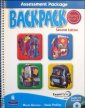Backpack, 2nd Ed. Assessment Pack w/ CDs Start. – L 3