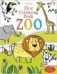 First Colouring Book Zoo (Usborne First Colouring Books)