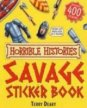 Horrible Histories: Savage Sticker Bk