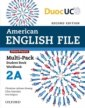 American English File 2 Multi-Pack A