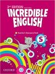 INCREDIBLE ENGLISH STARTER TEACHER´S RESOURCE PACK