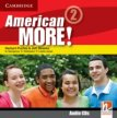 American More! Level 2 Class Audio CDs (2)