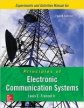 Experiments Manual To Accompany Principles Of Electronic Communication Systems, 4th Ed.