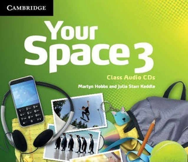 Your Space 3 Class Audio CDs (3) - Martyn Hobbs