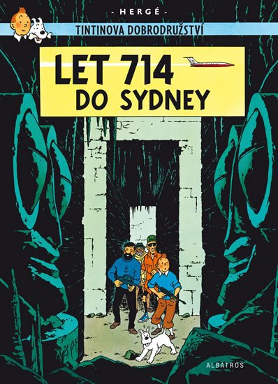 Tintin 22 - Let 714 do Sydney - Hergé