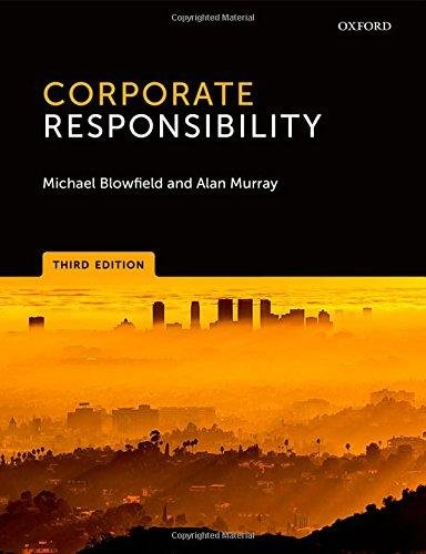 Corporate Responsibility 3rd - Michael Blowfield; Alan Murray