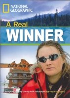 Footprint Readers Library Level 1300 - a Real Winner + MultiDVD Pack (american English) - WARING, R.