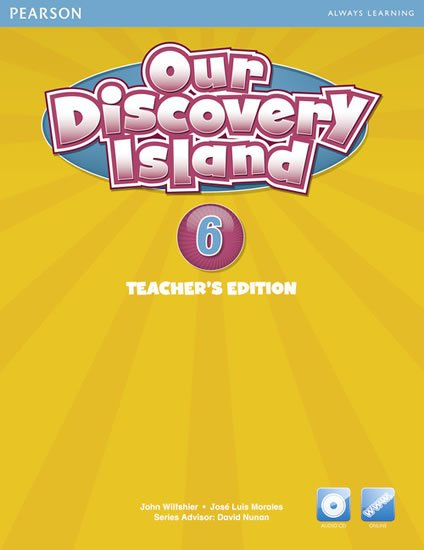 Our Discovery Island 6 Teachers Book with Audio CD/Pack