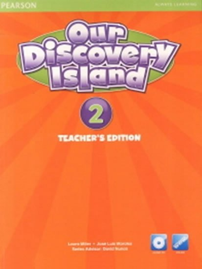 Our Discovery Island 2 Teachers Book with Audio CD/Pack