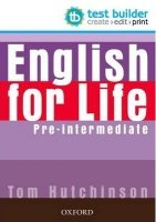 ENGLISH FOR LIFE PRE-INTERMEDIATE TEST BUILDER DVD-ROM