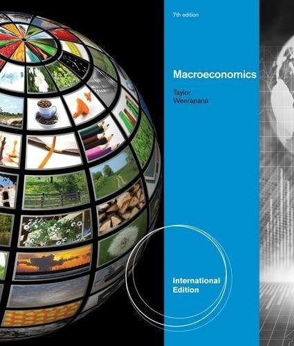 Macroeconomics, International Edition 7e