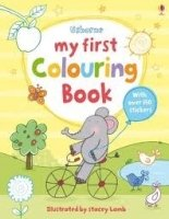 MY FIRST COLOURING BOOK WITH STICKERS