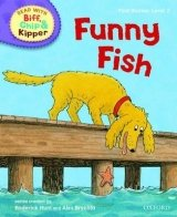 READ WITH BIFF, CHIP & KIPPER FIRST STORIES STAGE 2: FUNNY FISH (Oxford Reading Tree)