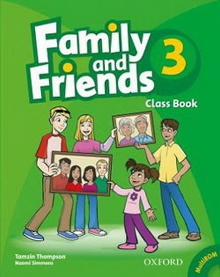 Family and Friends 3 Course Book with Multi-ROM Pack - Tamzin Thompson