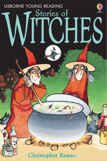 USBORNE YOUNG READING LEVEL 1: STORIES OF WITCHES + AUDIO CD PACK