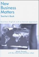 NEW BUSINESS MATTERS TEACHER´S BOOK