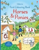 First Colouring Book: Horses and Ponies - Greenwell, J.
