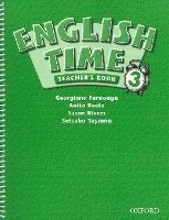 ENGLISH TIME 3 TEACHER´S BOOK