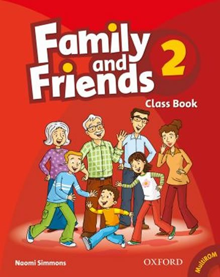 Family and Friends 2 Course Book with Multi-ROM Pack - Naomi Simmons