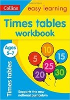 Times Tables Workbook Ages 5-7