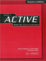 Active Skills for Communication 1 Teacher´s Book - SANDY, Ch.;KELLY, C.;HEALY, T.;ANDERSON, N. J.
