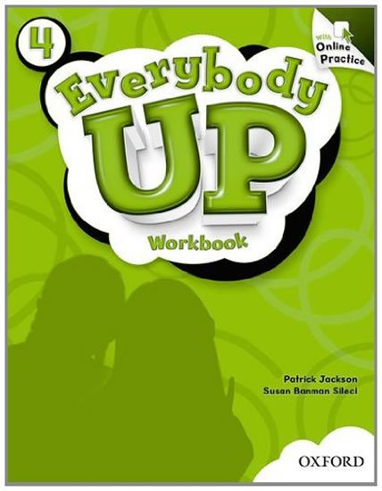 Everybody Up 4 Workbook with Online Practice Pack