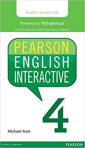Pearson English Interactive 4 Student Online Version Am English (Access Card)