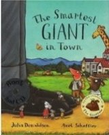 The Smartest Giant in Town Book + CD New Edition - DONALDSON, J.