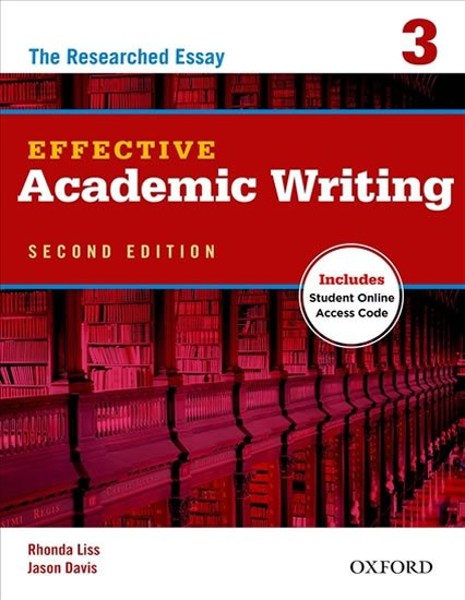 Effective Academic Writing 3 The Researched Essay (2nd)