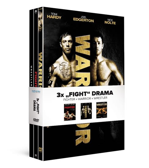 "3x ""Fight"" drama (3DVD): Fighter, Warrior, Wrestler"