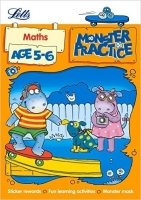 Maths Age 5-6 (Letts Monster Practice)
