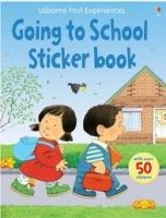 First Experience Sticker Going to School