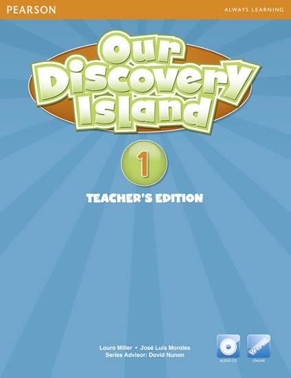 Our Discovery Island 1 Teachers Book with Audio CD/Pack