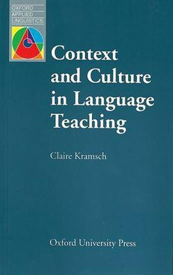 Oxford Applied Linguistics Context and Culture in Language Teaching