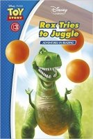 Toy Story: Rex Tries to Juggle (Adventures in Reading, Level 3) (Disney Learning)