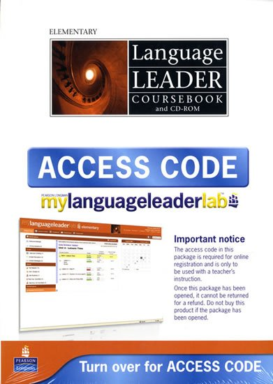 Language Leader Elementary Coursebook w/ CD-ROM/LMS/Access Card Pack - Gareth Rees
