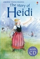 Usborne Young Reading Level 2: the Story of Heidi + Audio CD Pack - SPYRI, J.