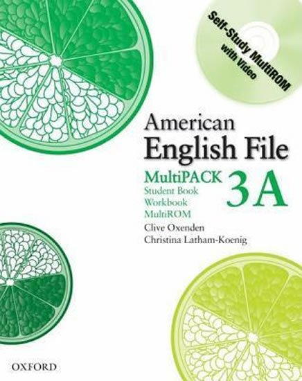 American English File 3 Student´s Book + Workbook Multipack A