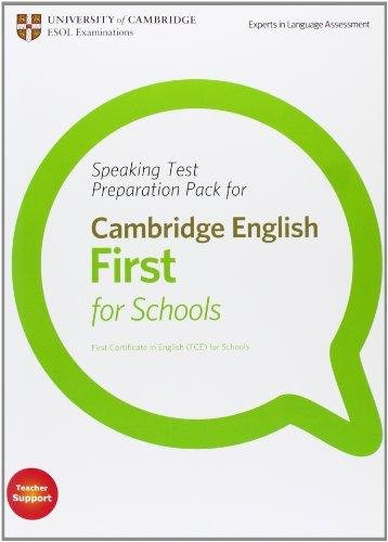 Speaking Test Preparation Pack FCE for Schools PB with DVD
