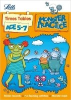 Times Tables Age 5-7 (Letts Monster Practice)