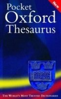Pocket Oxford Thesaurus - MARSHALL, D. (ed.);WAITE, M. (ed.)