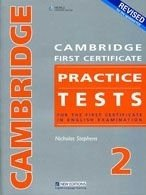 Cambridge FCE Practice Tests 2 2008 Revised Ed. Student´s Book with Key + Audio CD Pack - STEPHENS, N.