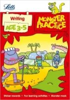 Writing Age 3-5 (Letts Monster Practice)