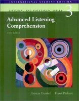 ADVANCED LISTENING COMPREHENSION Third Edition STUDENT´S BOOK