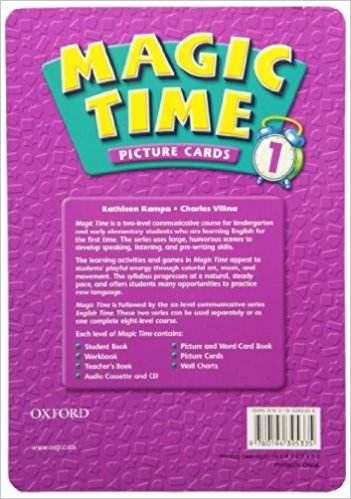 Magic Time 1 Picture Cards - KAMPA, K.;VILINA, C.