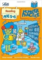 Reading Age 5-6 (Letts Monster Practice)