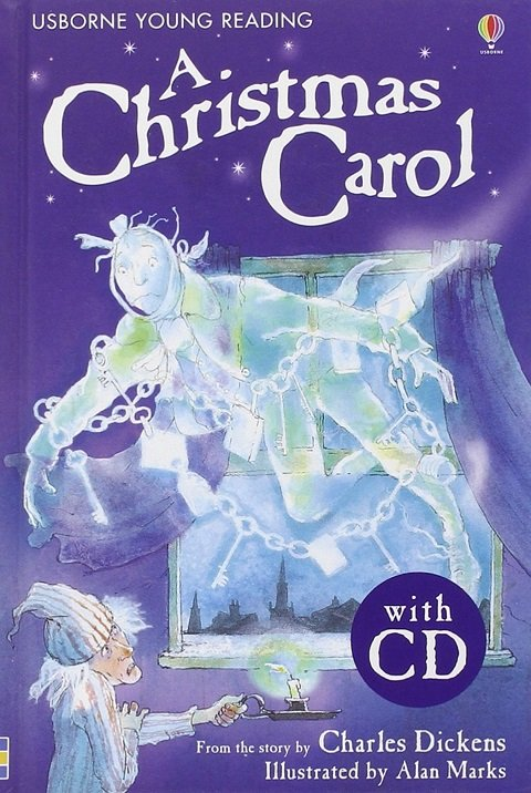 Usborne Young Reading Level 2: a Christmas Carol + Audio CD Pack - DICKENS, Ch.;MARKS, A. (Ill.)