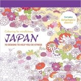 Japan: 70 designs to help you de-stress (Colouring Book) - Hamlyn