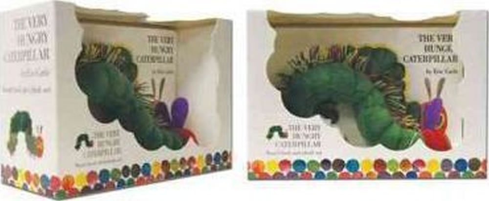 The Very Hungry Caterpillar Board Book and Plush - Eric Carle